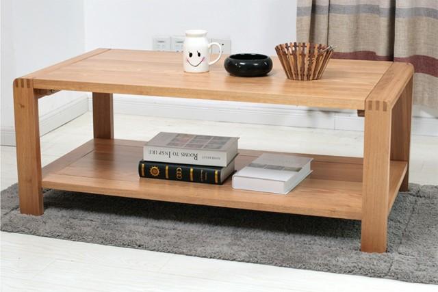 辦公家具新款 時尚實木油漆辦公茶幾 簡約現代茶幾 wcj021